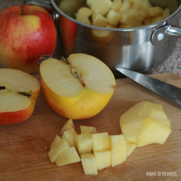 Homemade Apple Sauce|Bake to the roots