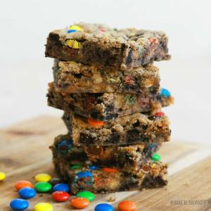 Compost Cookie Bars | Bake to the roots