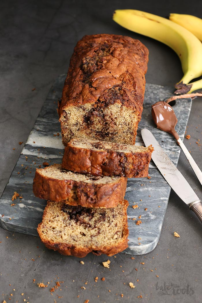 Banana Nutella Bread | Bake to the roots