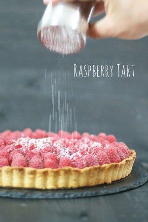 Easy Raspberry Tart