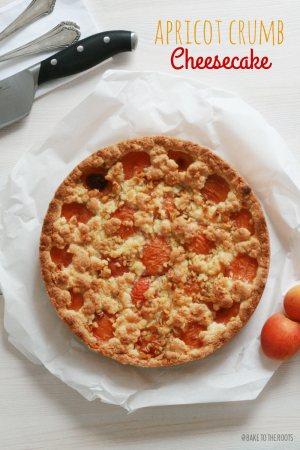 Apricot Crumb Cheesecake