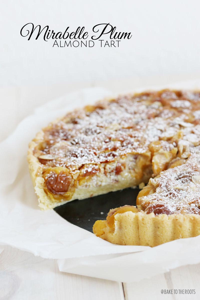 mirabelle plum almond tart bake to the roots. Black Bedroom Furniture Sets. Home Design Ideas