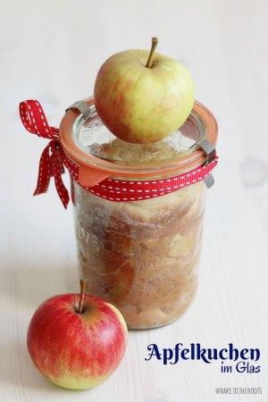 Apple Pie in a Glass Jar