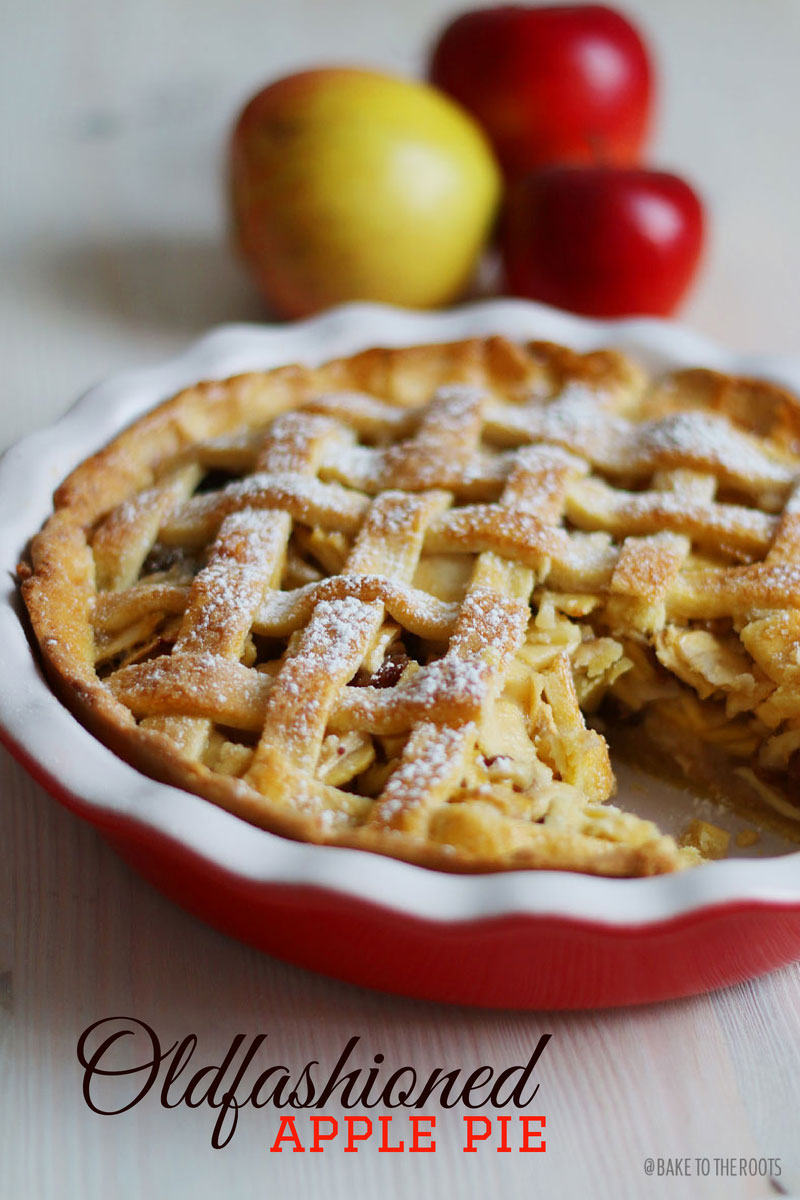 oldfashioned apple pie bake to the roots. Black Bedroom Furniture Sets. Home Design Ideas