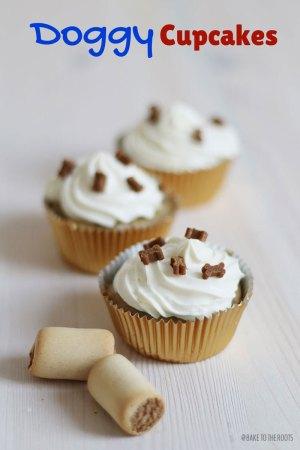 Hunde Cupcakes