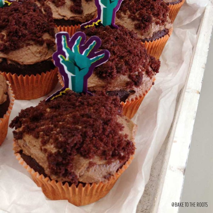 Halloween Cupcakes | Bake to the roots