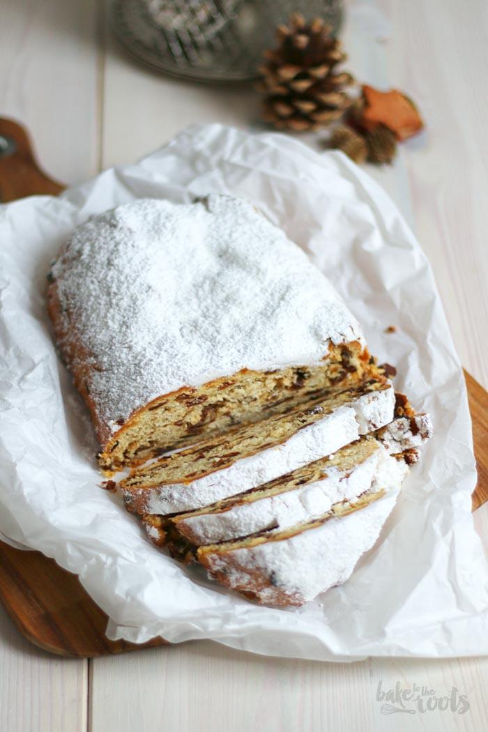 Christstollen mit Nüssen | Bake to the roots