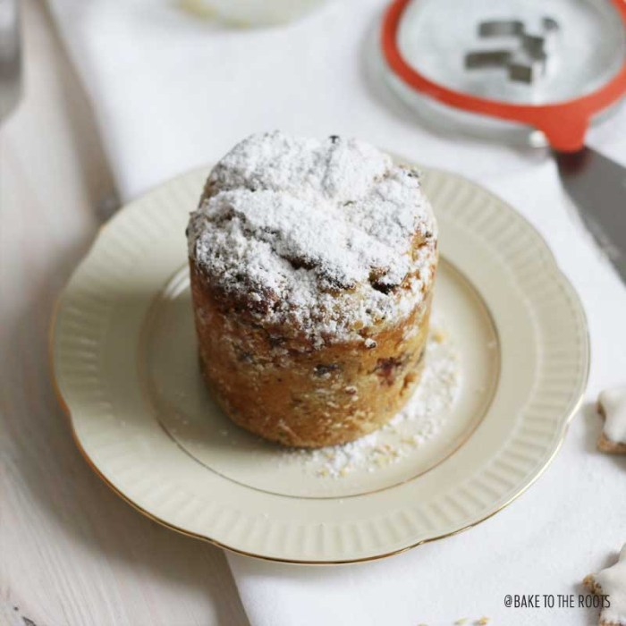 Christstollen im Glas   Bake to the roots
