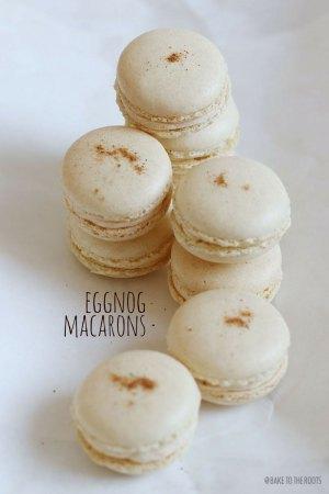 Eggnog (Eierlikör) Macarons