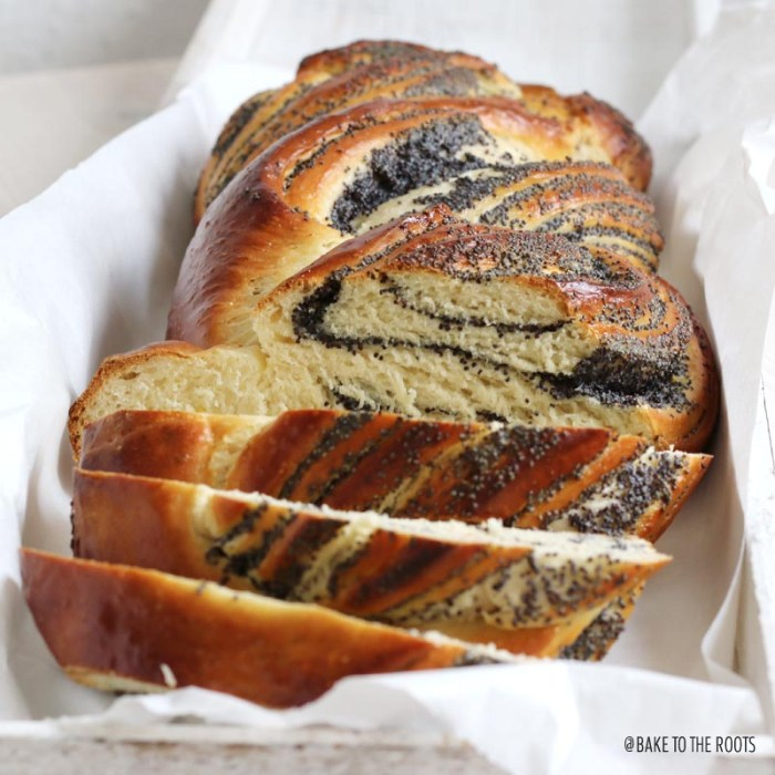 Poppy Seed Braided Loaf | Bake to the roots