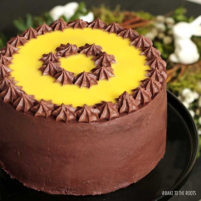 Kleine Eierlikör Torte | Bake to the roots