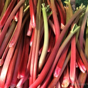Rhubarb Ginger Crumble   Bake to the roots