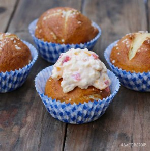 Brezn Cupcakes mit Obazdn Topping   Bake to the roots