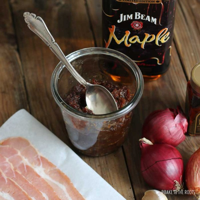 Ultimate Bacon Bourbon Jam | Bake to the roots
