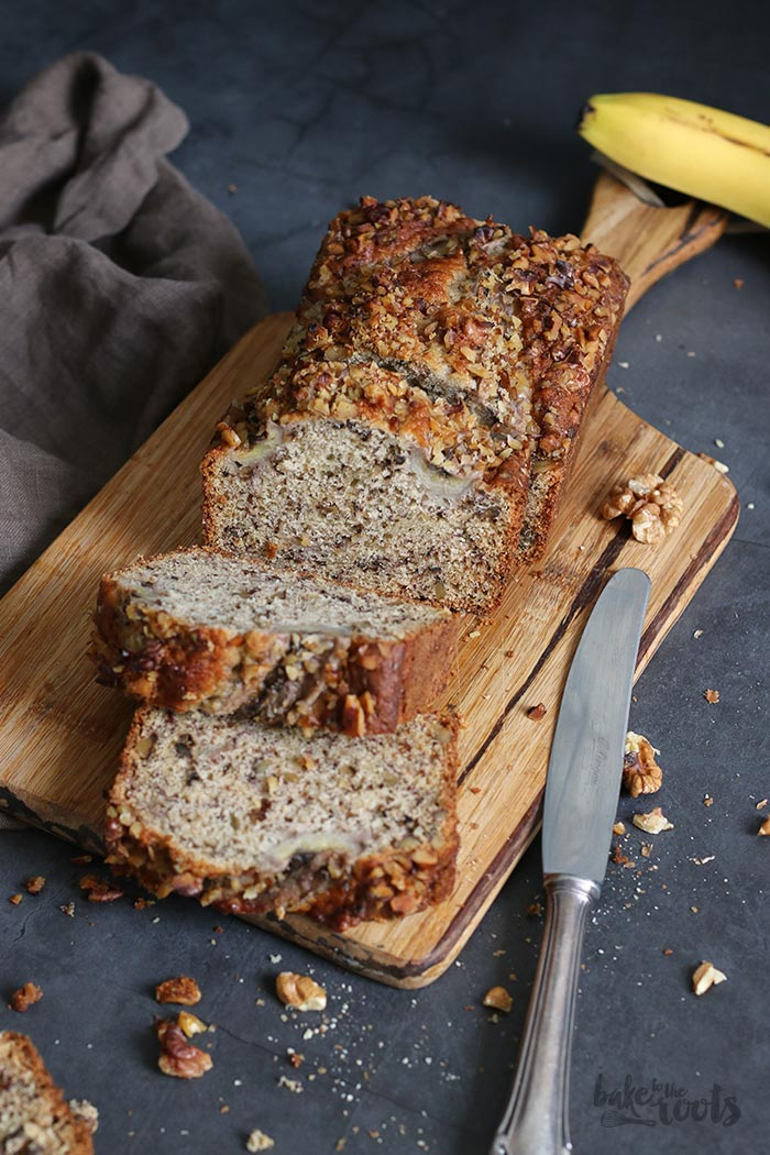 Walnut Banana Bread | Bake to the roots
