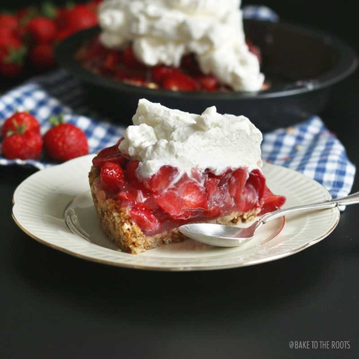 Strawberry Pie with Pretzel Crust   Bake to the roots