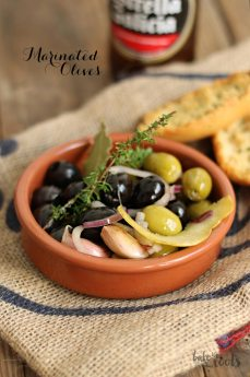 Marinated Olives   Bake to the roots