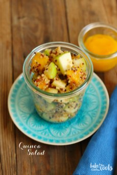 Easy Quinoa Salad | Bake to the roots