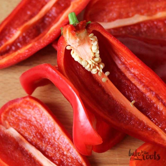 Roasted Pepper Jam | Bake to the roots