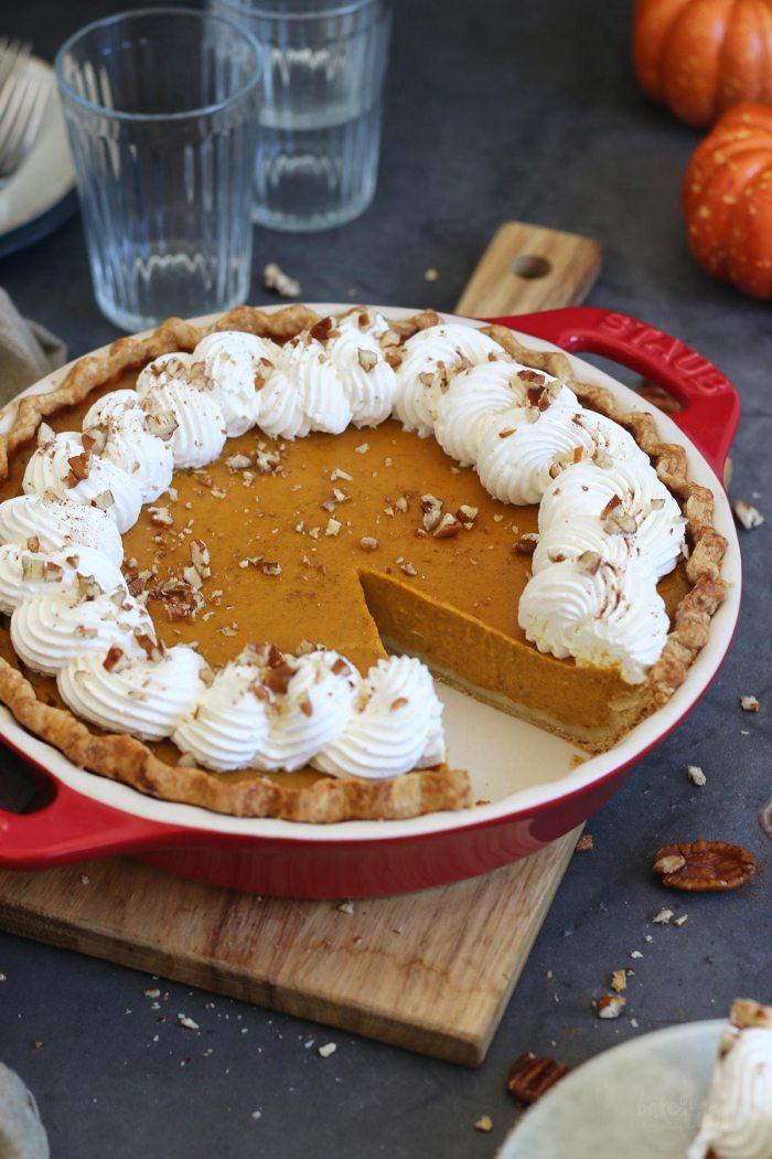 Klassischer Pumpkin Pie | Bake to the roots