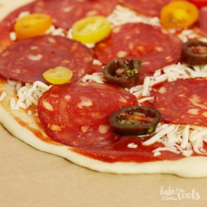 Chorizo Pizza | Bake to the roots