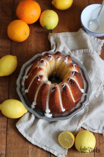 Polenta Gugelhupf with Lemon and Orange Blossom | Bake to the roots