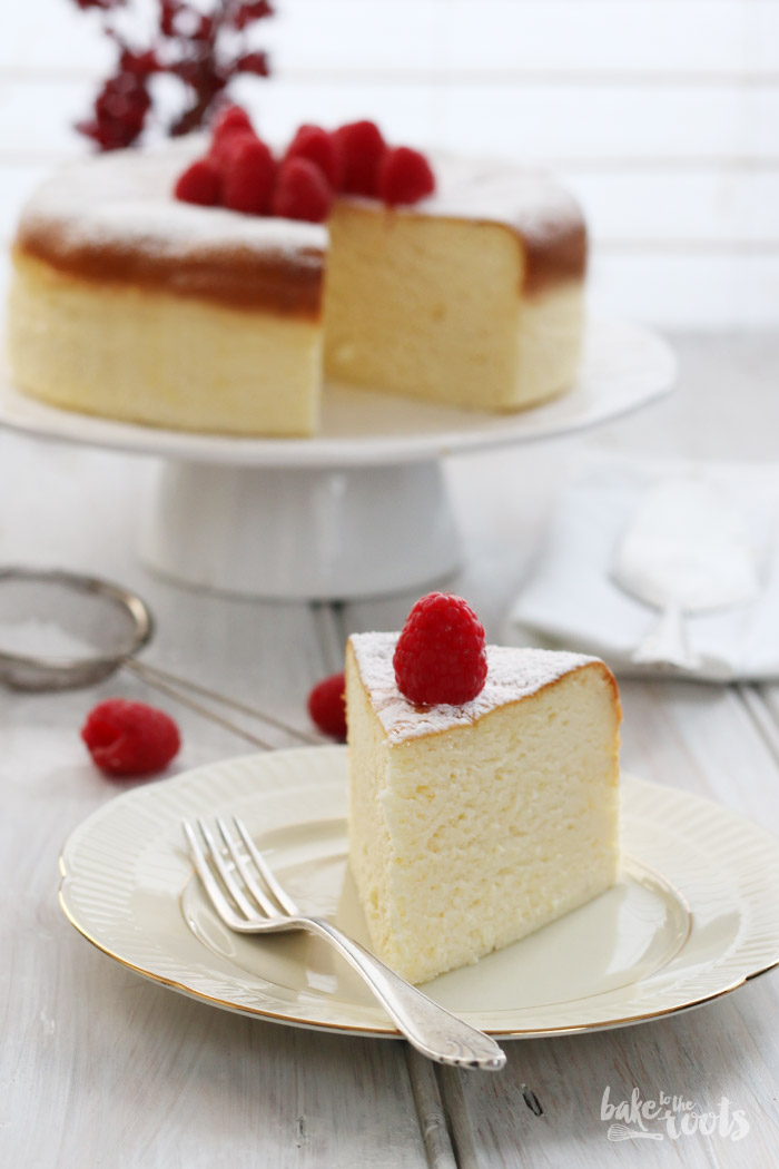 Japanese Cheesecake | Bake to the roots