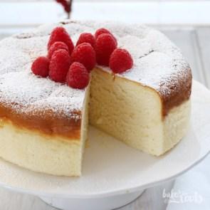 Japanischer Kasekuchen Aka Cotton Cheesecake Aka チーズケーキ
