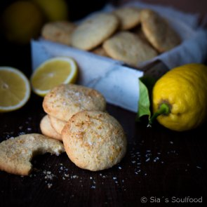 "Lemon Coconut Cookies | Cookie Friday with ""Sia's Soulfood"""