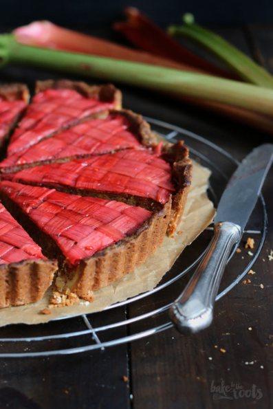 Rhubarb Frangipane | Bake to the roots