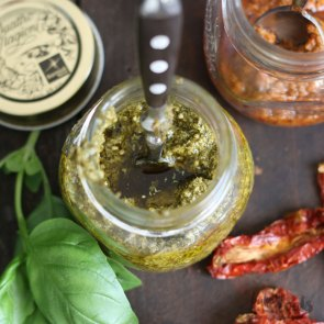 Pesto Genovese & Pesto Rosso | Bake to the roots