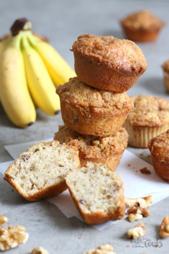 Banana Bread Muffins | Bake to the roots