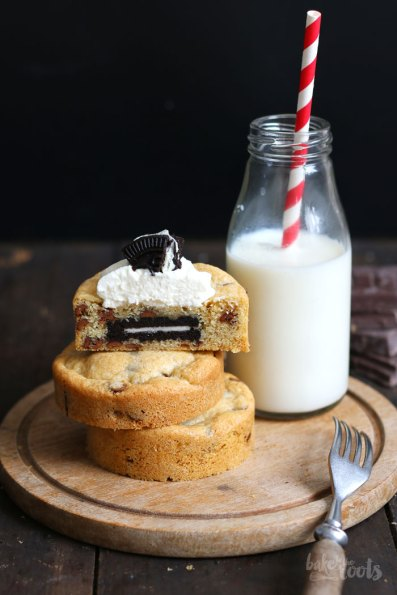 (Mini) Chocolate Chip Oreo Cookie Cakes   Bake to the roots