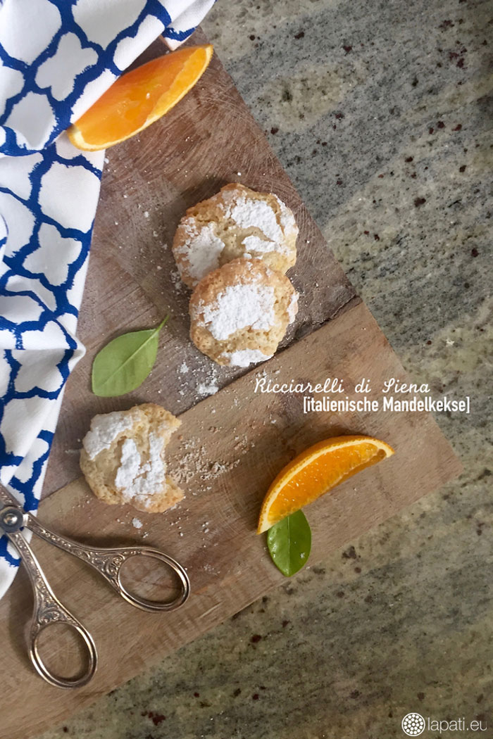 "Ricciaelli di Siena | Cookie Friday with ""LAPÂTISSERIE"""