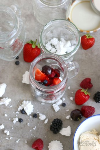 Eton Mess with Wild Berries | Bake to the roots
