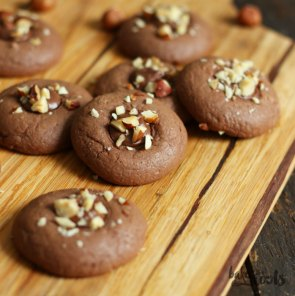 Nutella Cookies | Bake to the roots