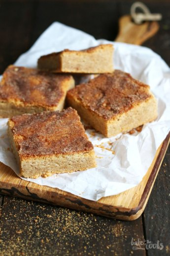 Snickerdoodle Blondies   Bake to the roots