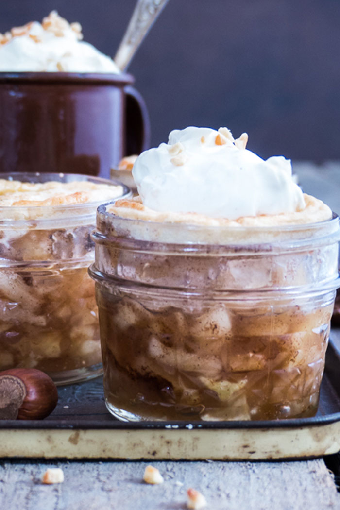 Apple Pie In Glass Jar From Meine Kuchenschlacht Blogevent Re