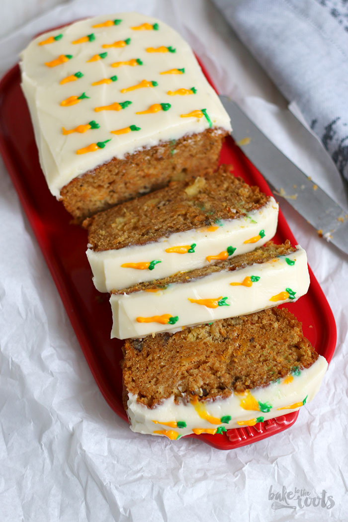 Carrot Loaf Cake | Bake to the roots