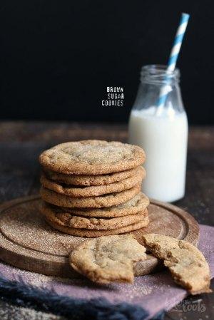Braune Zucker Cookies