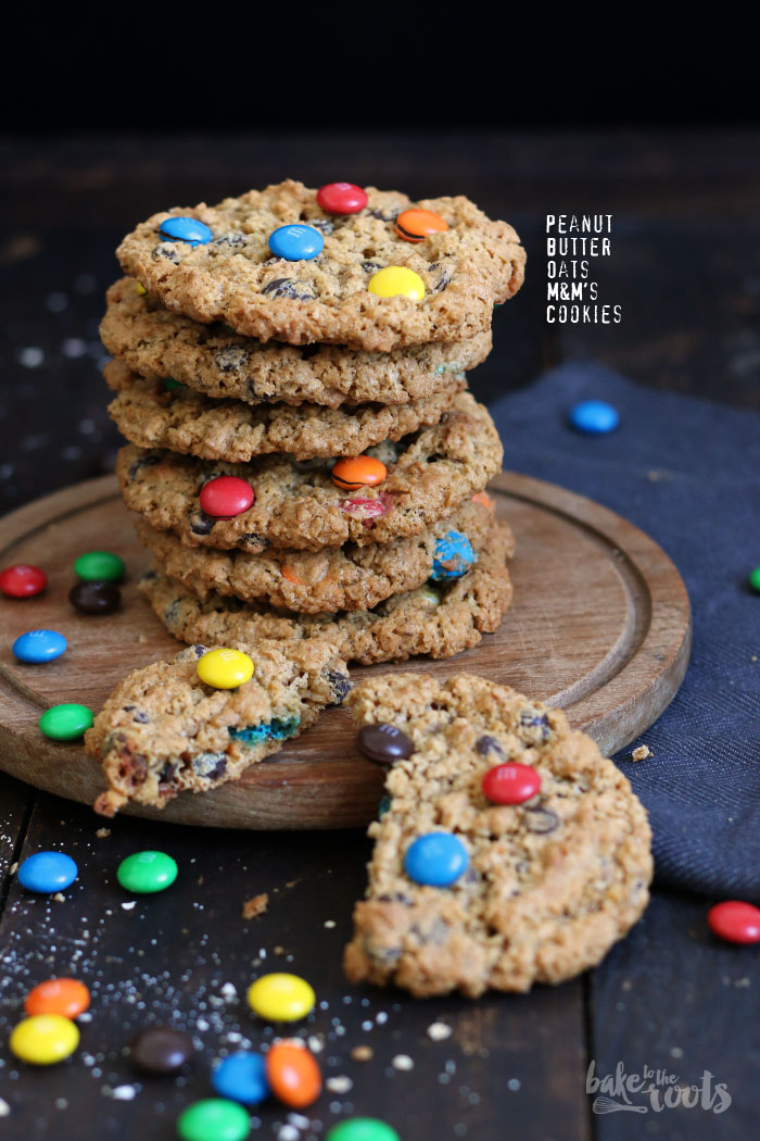 Peanut Butter Oats Cookies | Bake to the roots