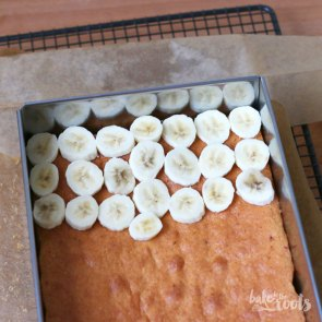 Banana Cream Pie Blechkuchen | Bake to the roots