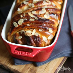 Rhubarb Strawberry Almond Swirl Bread   Bake to the roots