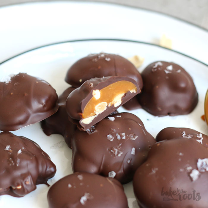 Caramel Nut Clusters | Bake to the roots