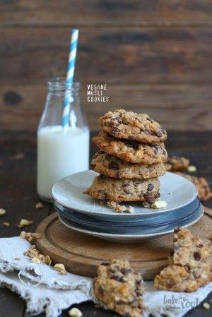 Vegane Müsli Cookies
