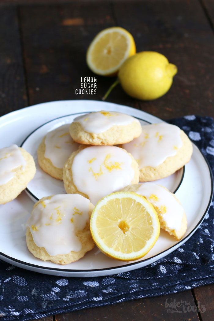 Lemon Sugar Cookies | Bake to the roots