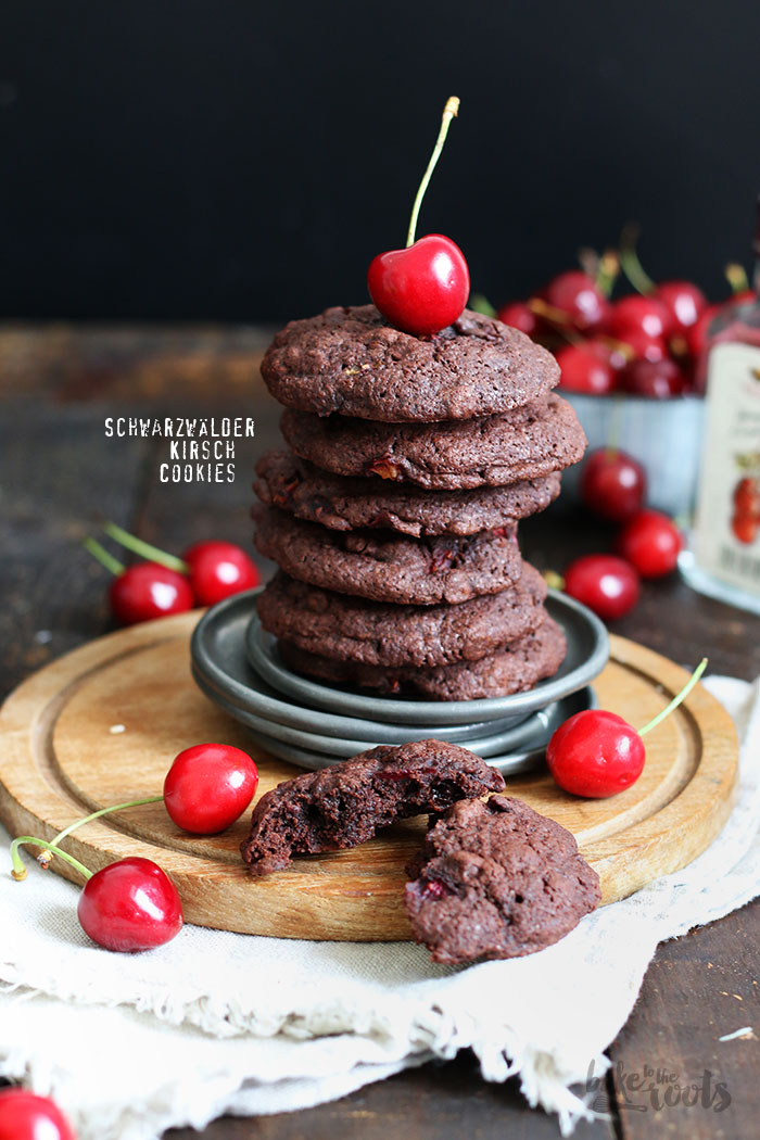 Schwarzwälder Kirsch Cookies | Bake to the roots