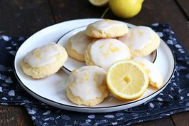 Lemon Sugar Cookies | Bake to the roots