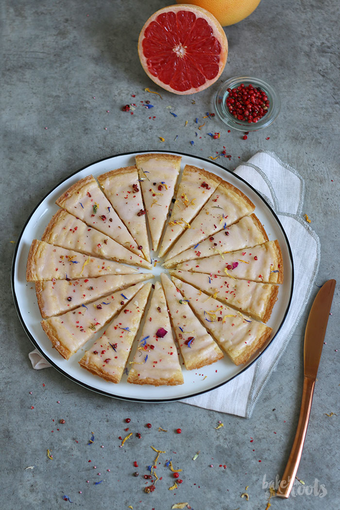 Grapefruit Shortbread   Bake to the roots
