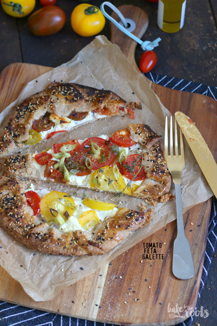 Tomato Feta Galette | Bake to the roots